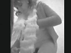 Behårede pige skjult cam #3