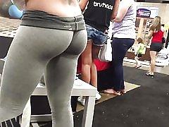 Stramme røv i leggings