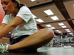 Ser ud henne ved gym på #04
