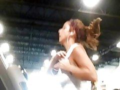 Ser ud henne ved gym på #11