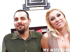 Se en pornostjerne pund din kone hårdt