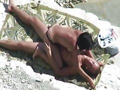 Sex på stranden