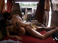 Romantisk sex i bilen