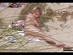 Forbudt kamera blonde nat på dunes